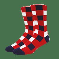 calcetines personalizados de cuadros escoceses