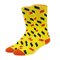 calcetines personalizados de cuadros