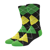 calcetines personalizados de rombos