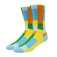 calcetines personalizados varios colores