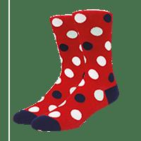 calcetines personalizados de topos