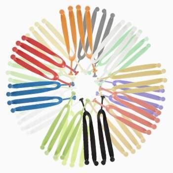 Tiras de colores para chanclas personalizadas