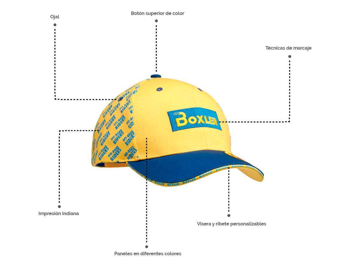 Personaliza tu gorra