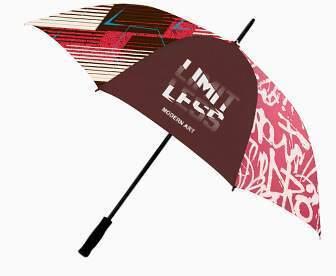 paraguas personalizado impresión total