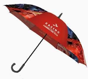 paraguas personalizados color seis paneles