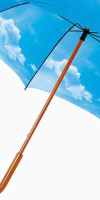paraguas personalizados de apertura manual