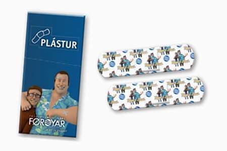 En Coartegift imprimimos tus diseños de tiritas personalizadas