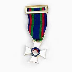medalla institucional personalizada