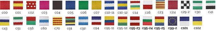 cintas para medallas personalizadas