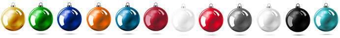 bolas de navidad rellenas de chocolate