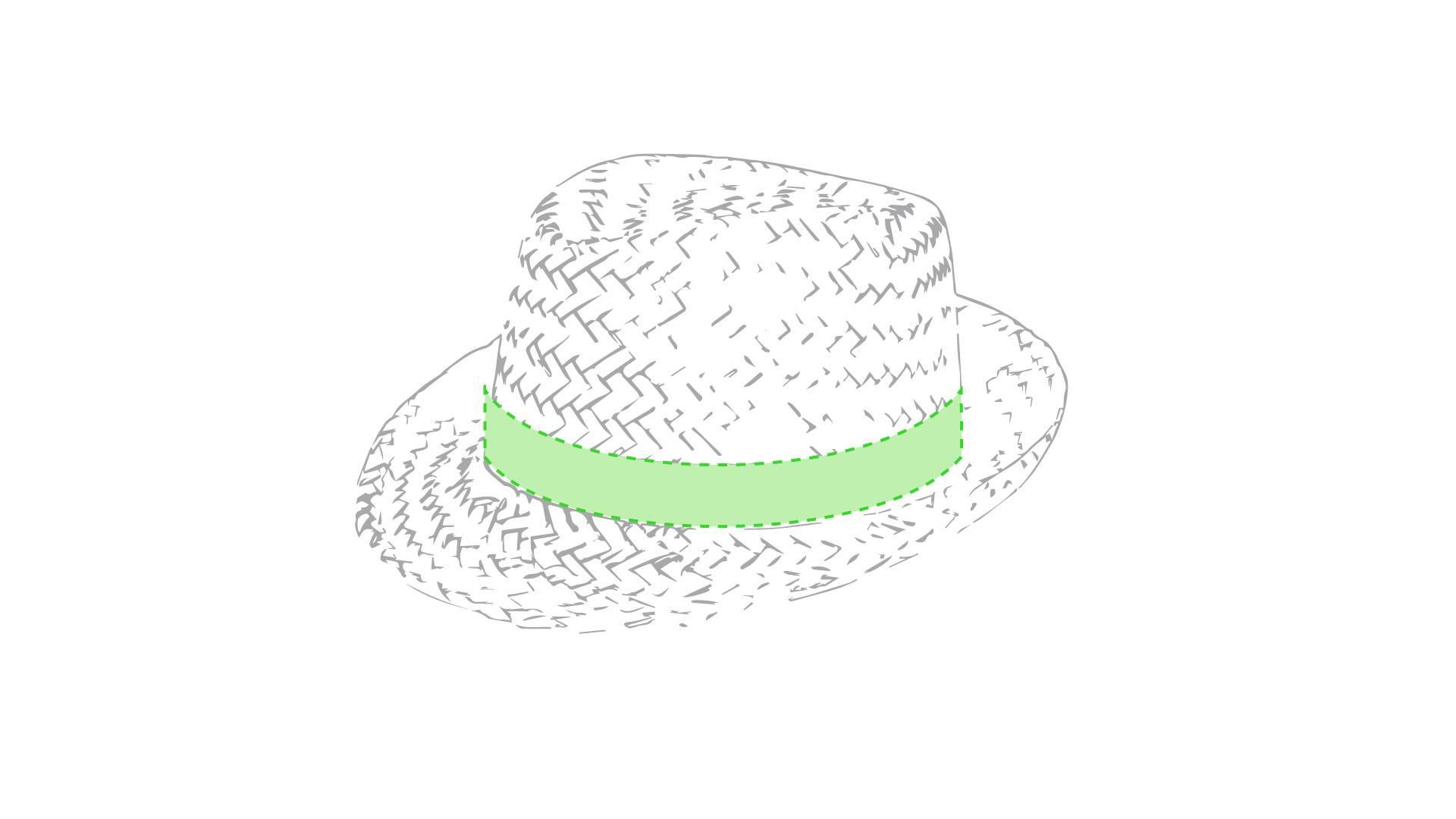 Sombrero de paja Zelio 1