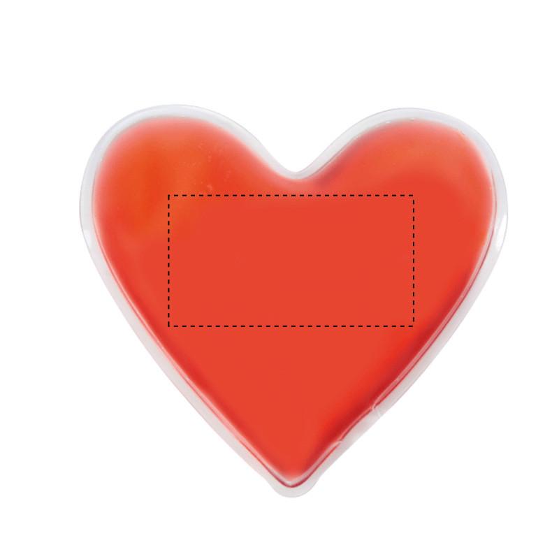 Parche de calor con forma de corazón 2