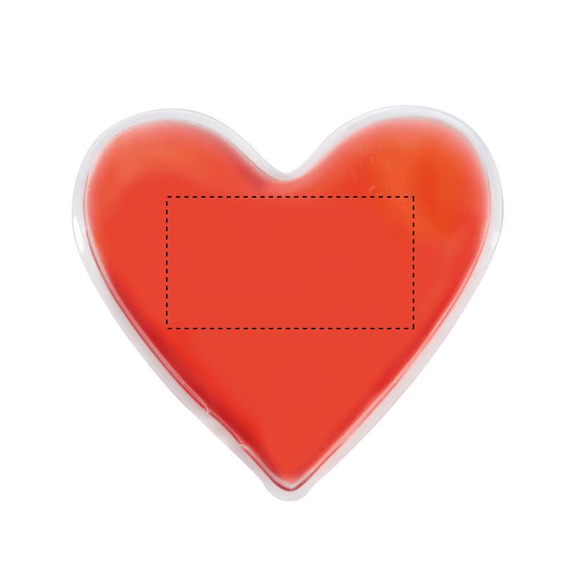 Parche de calor con forma de corazón 1