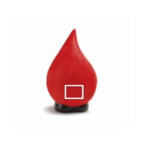 Antiestrés de gota de sangre 1