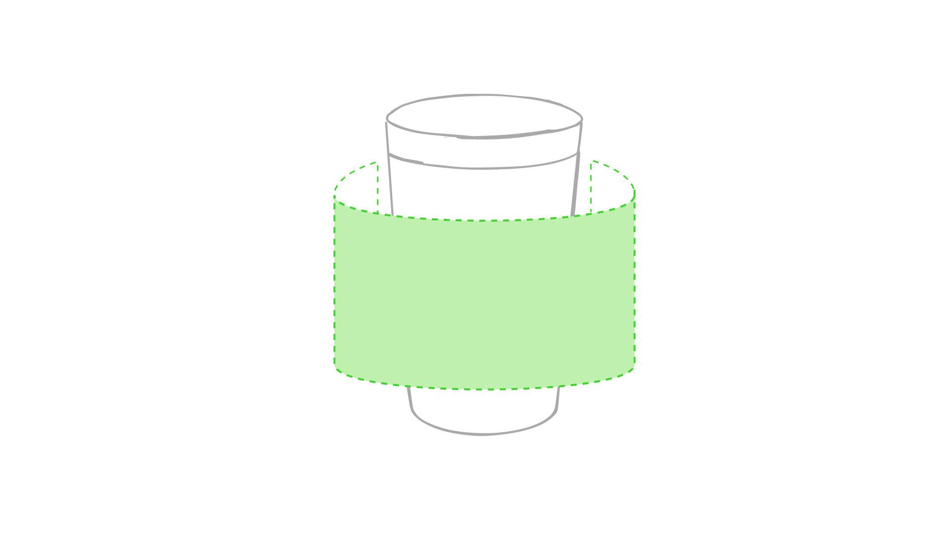 Vaso pizarra 1