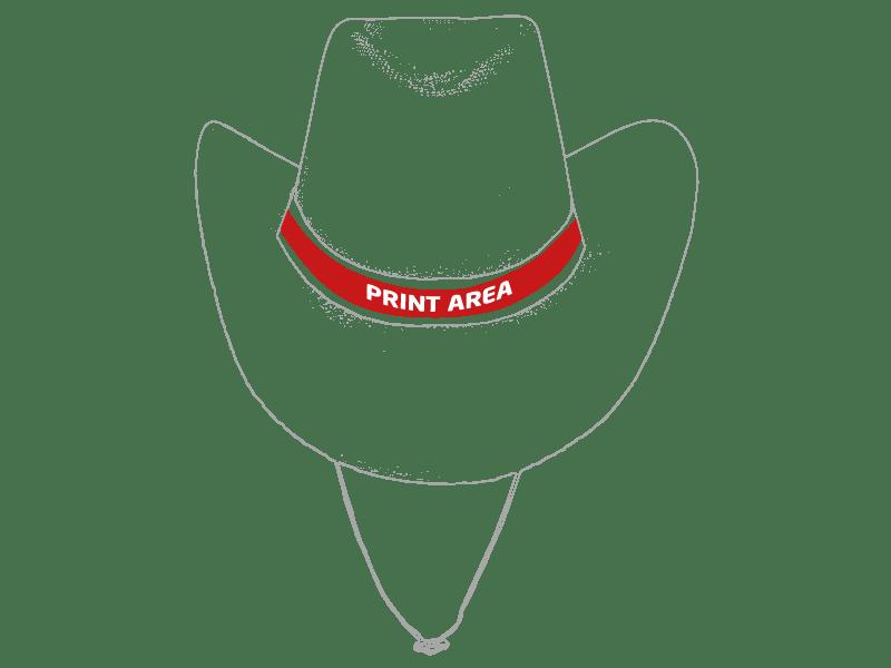 Sombrero cowboy sintético 1