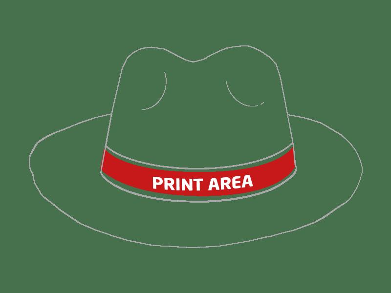 Sombrero de paja verde 1