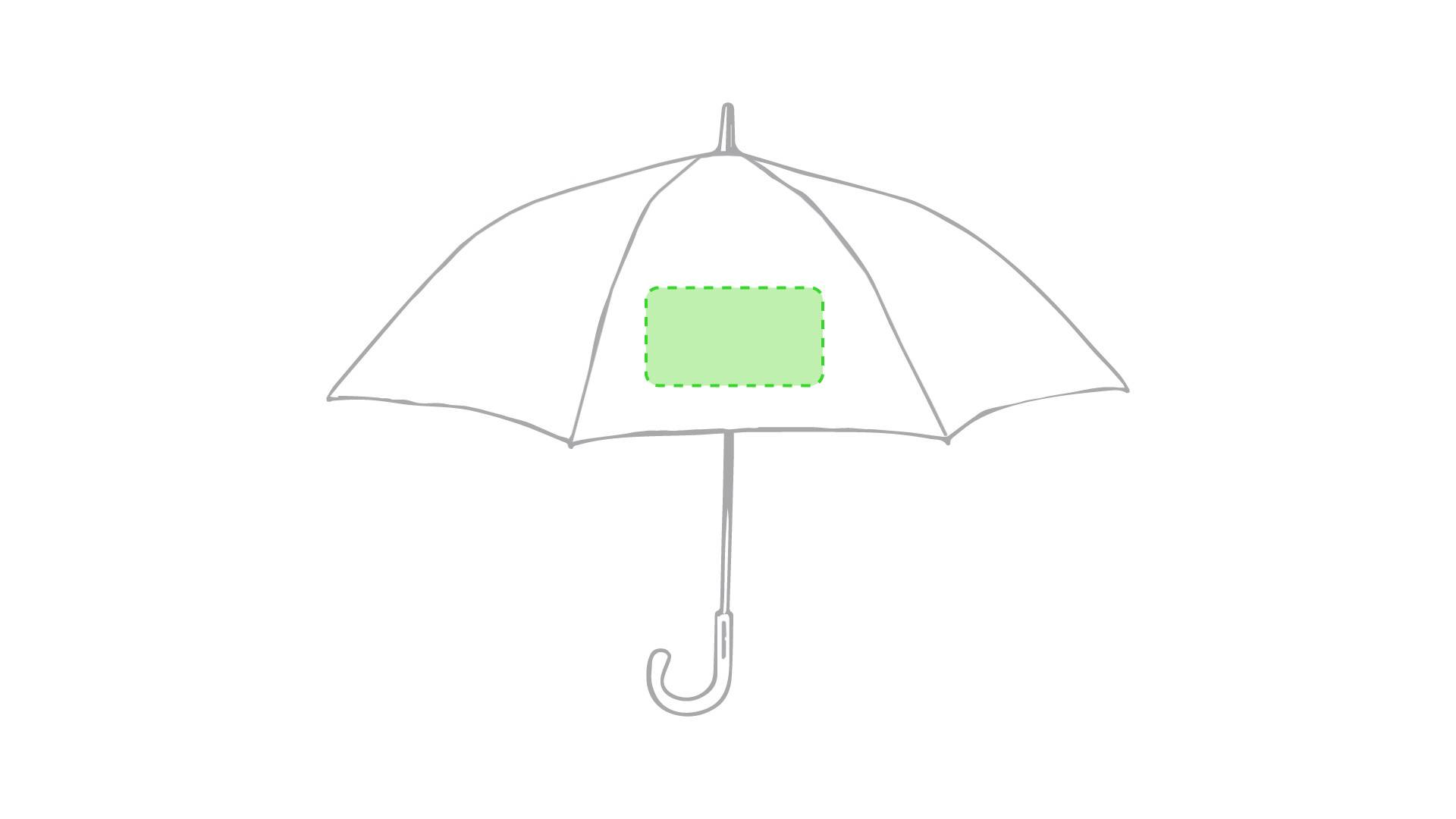 Paraguas bicolor 1