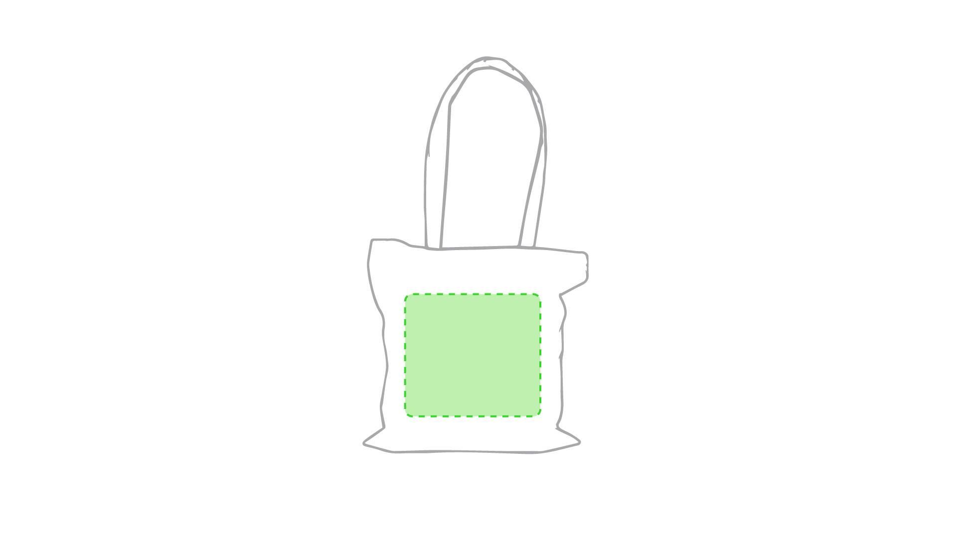 Bolsa de algodón 105 gr/m2 natural 1
