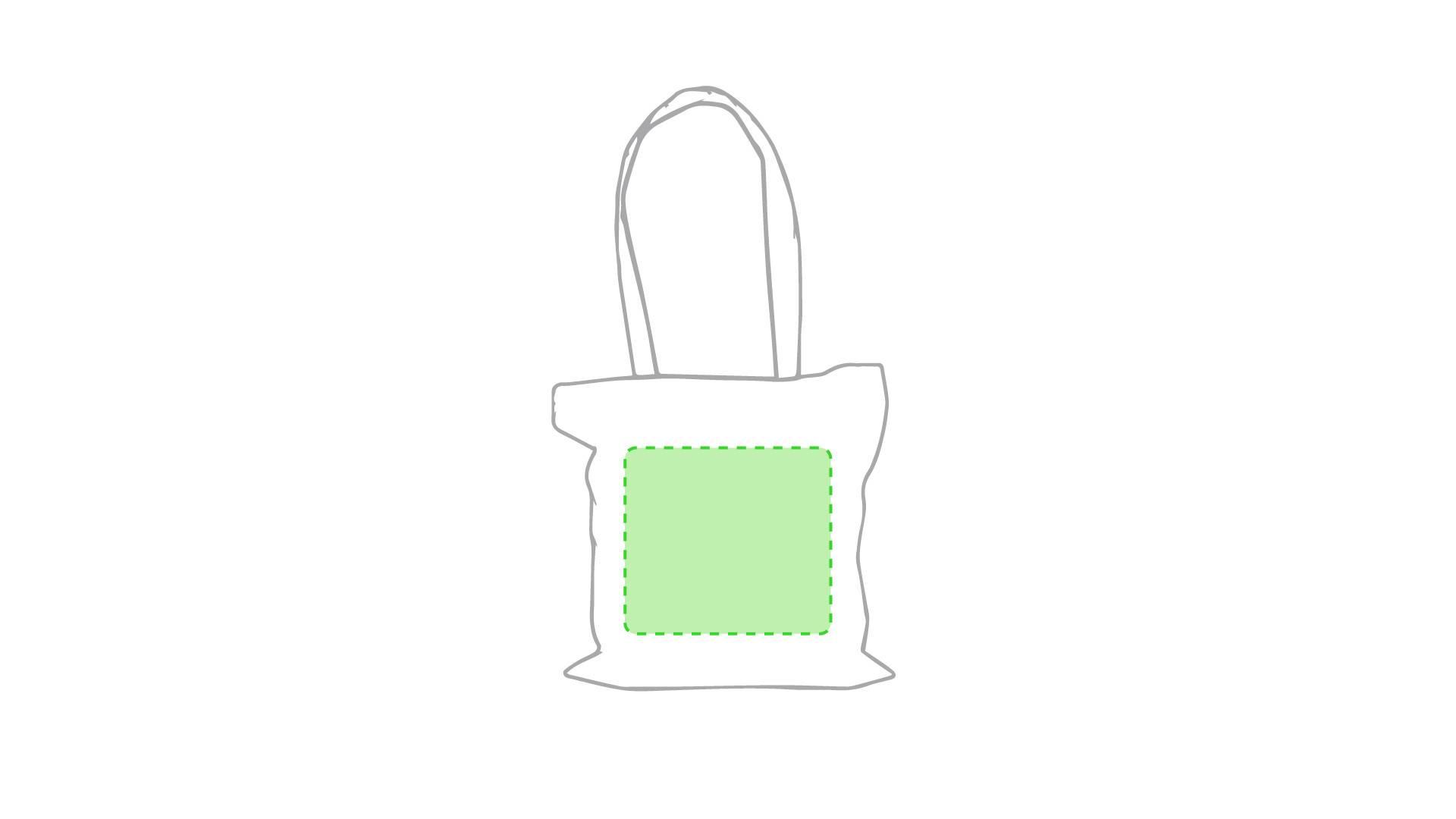 Bolsa de algodón 105 gr/m2 natural 2