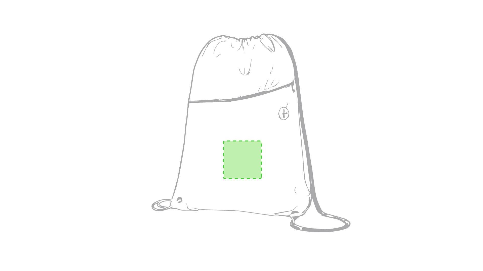 Mochila de poliéster con cremallera 2