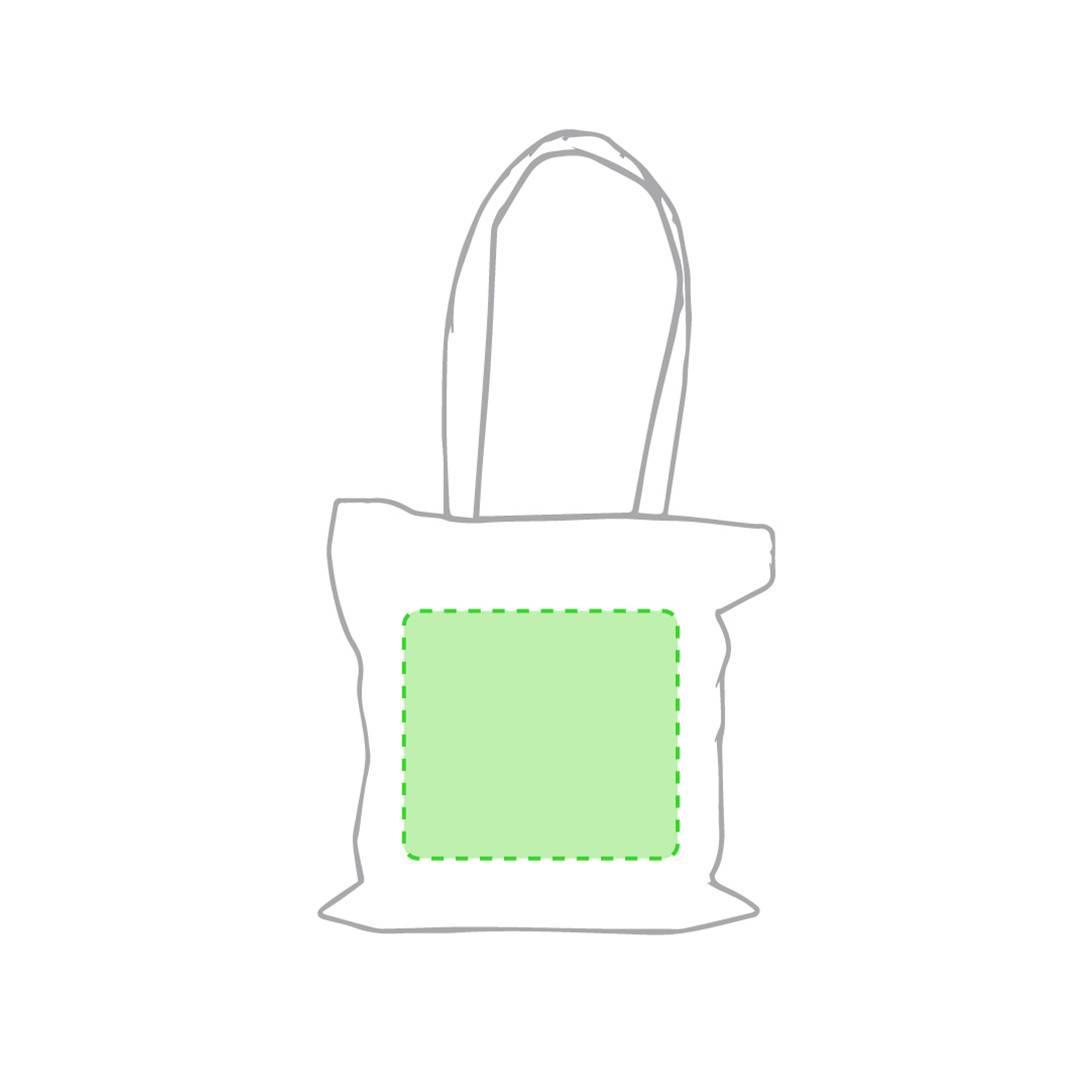 Bolsa de algodón 140 gr/m2 natural 1