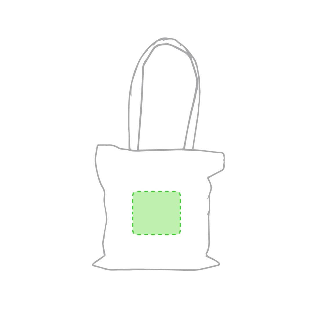 Bolsa de algodón 140 gr/m2 natural 2
