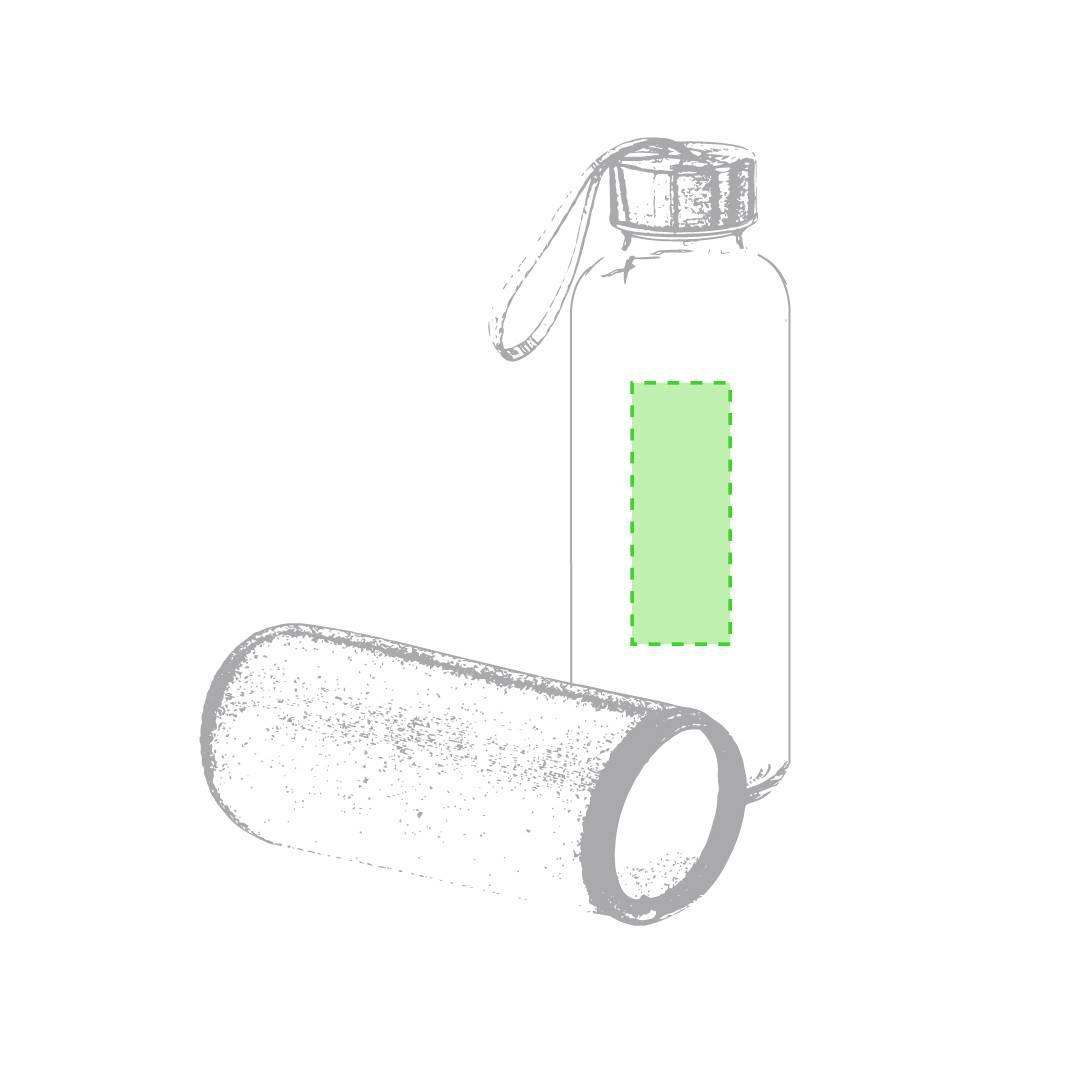 Bidón de cristal con neopreno 1