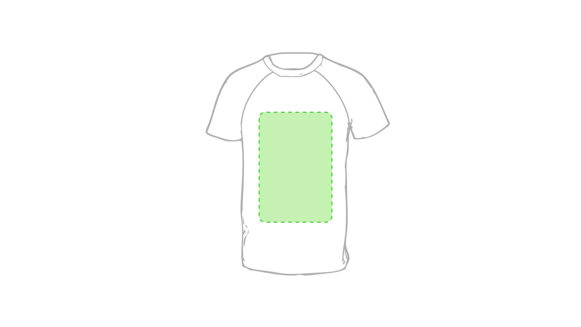 Camiseta técnica de colores 1
