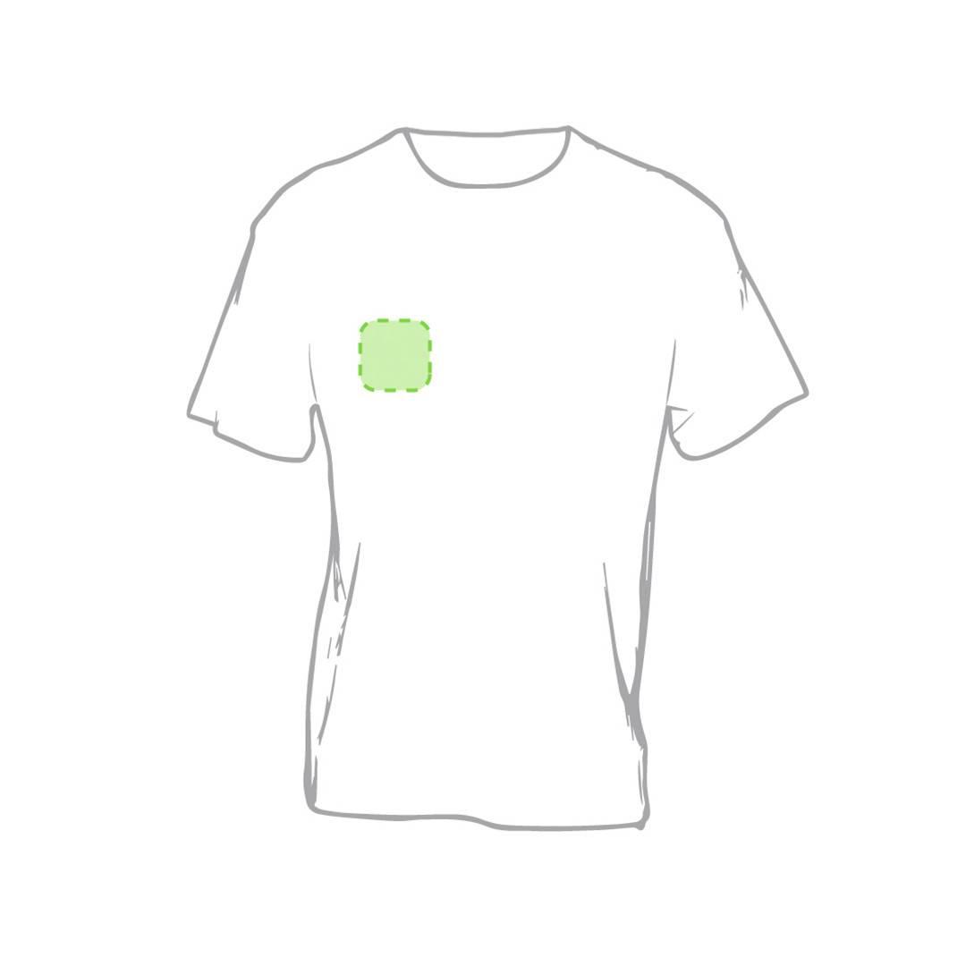 Camiseta de algodón Keya 150 gr/m2 3
