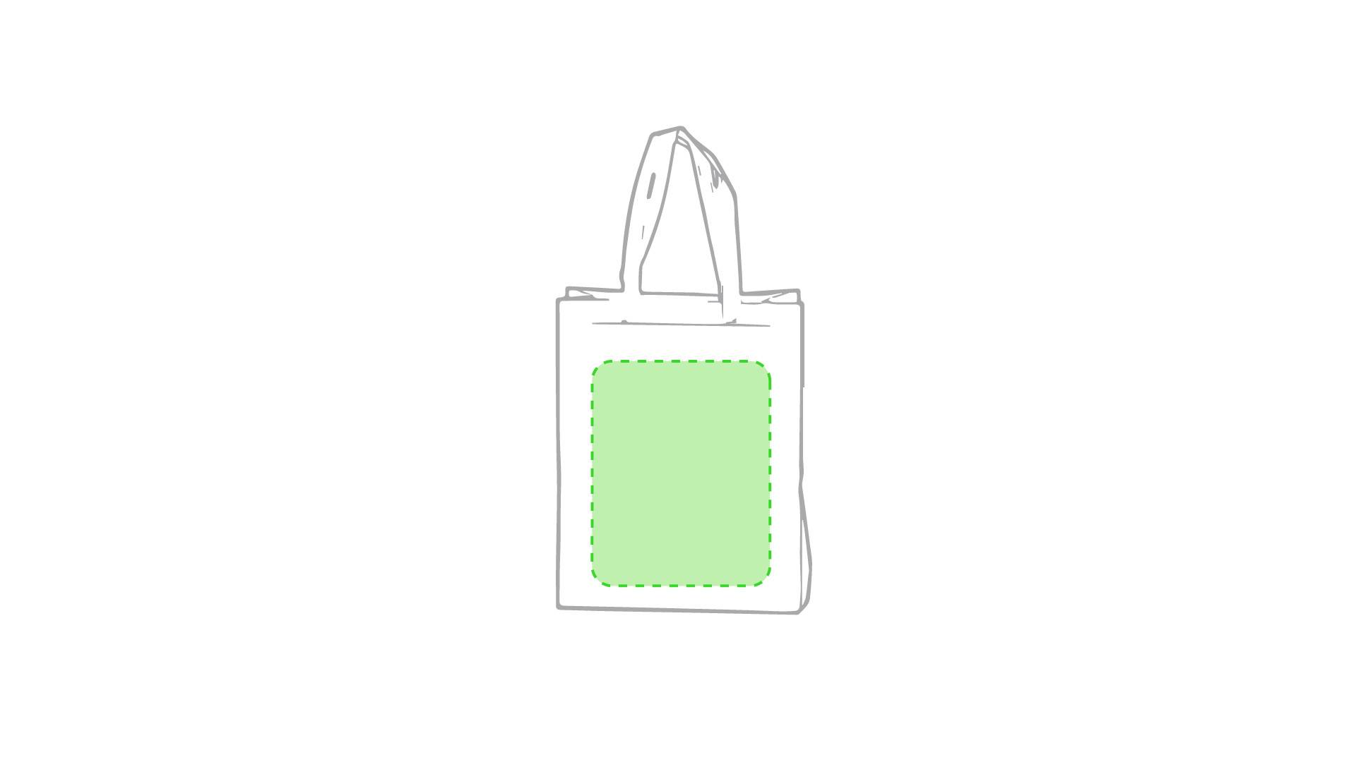 Bolsa de non woven con fuelle de colores 1