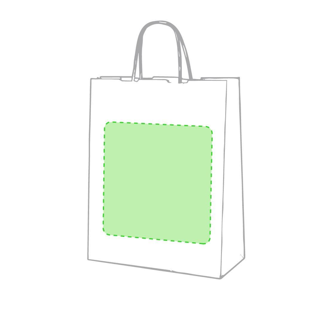 Bolsa de papel reciclado 25 x 31 x 11 cm 1