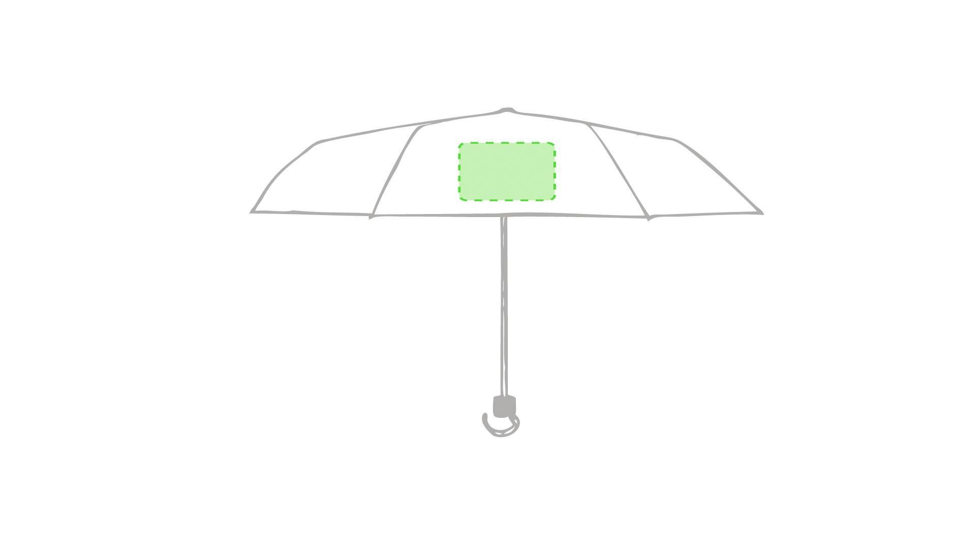 Paraguas plegable de colores 1