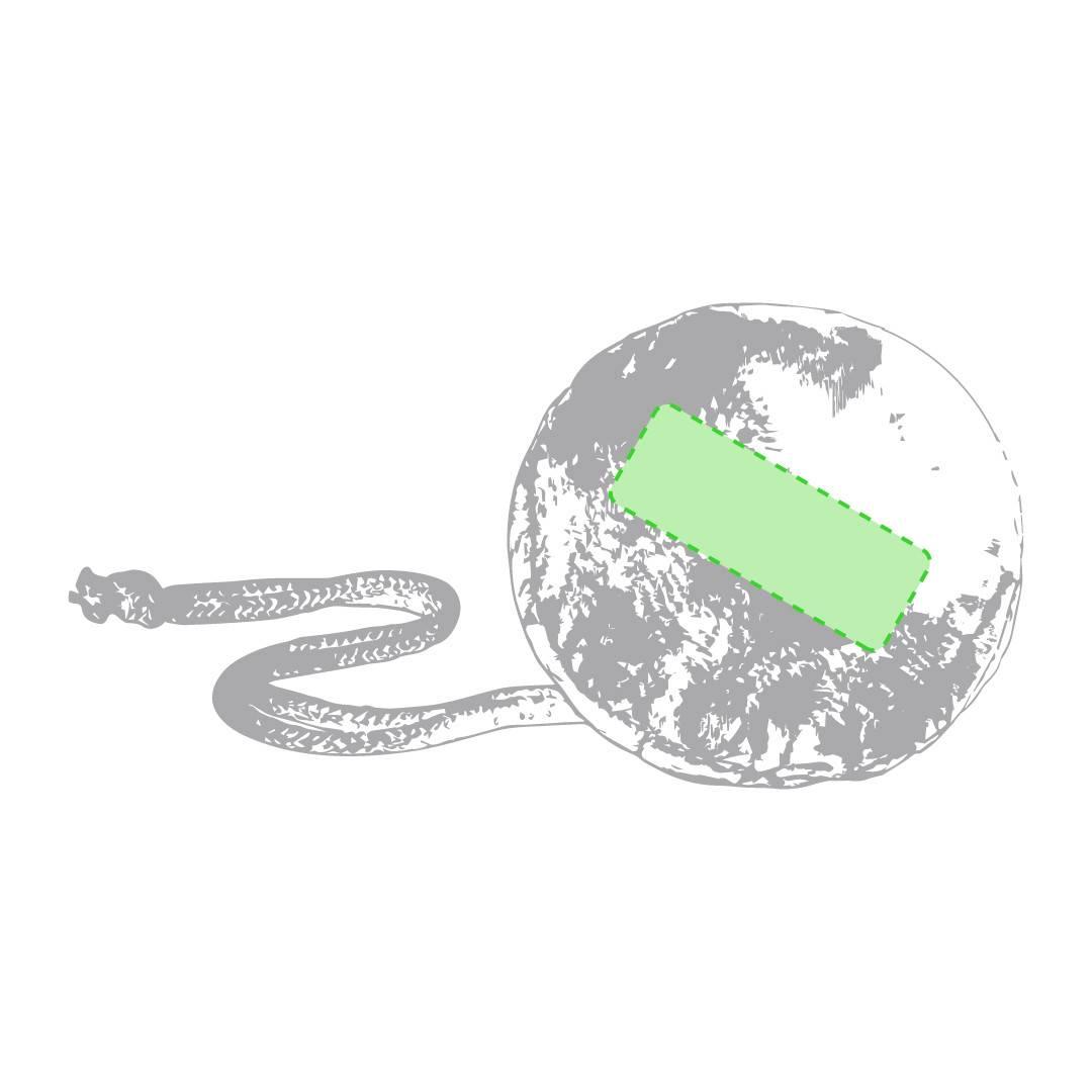 Bolsa plegable con cordón 1