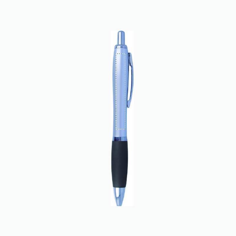 Bolígrafo de plástico satinado 1