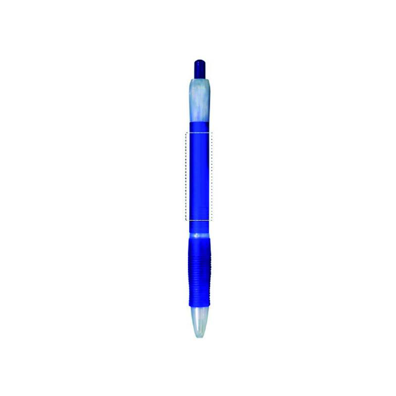 Bolígrafo de plástico translúcido 1
