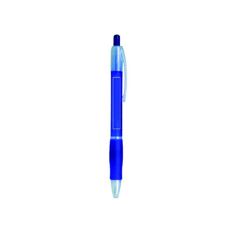 Bolígrafo de plástico translúcido 2