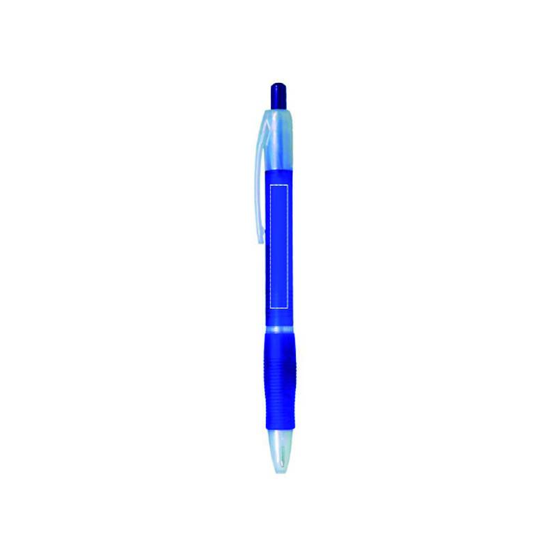 Bolígrafo de plástico translúcido 3