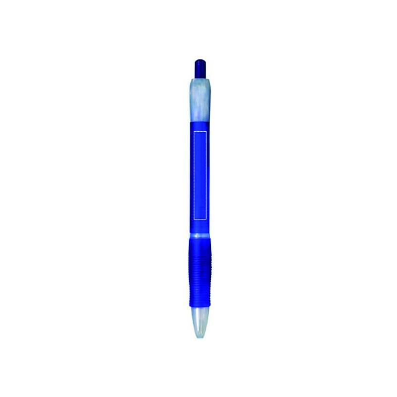 Bolígrafo de plástico translúcido 4