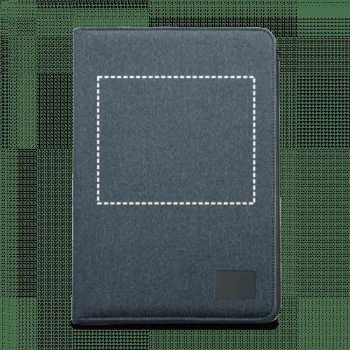 Portafolios A4 con bloc de notas 2