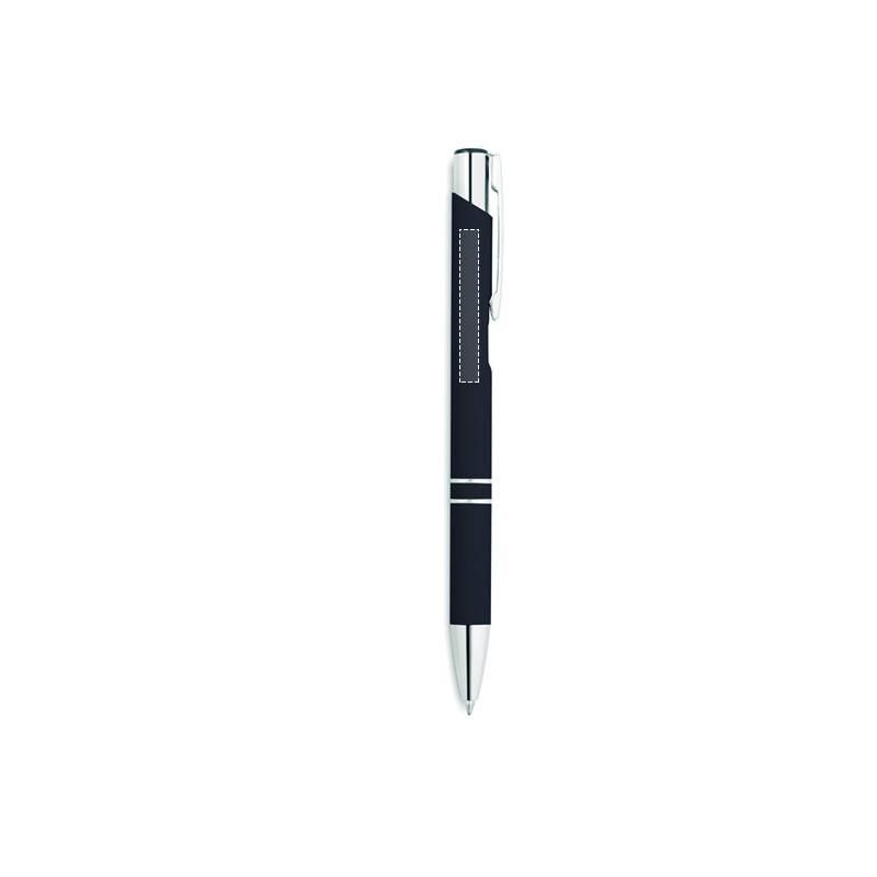 Bolígrafo de caucho y pulsador 1