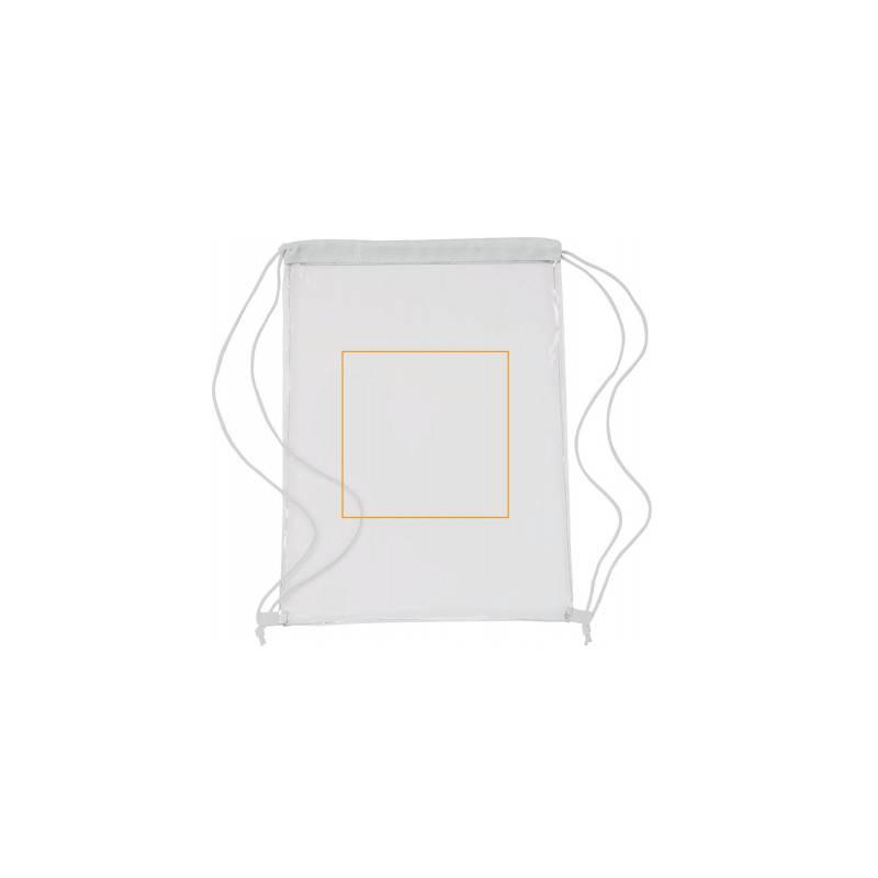 Mochila transparente de PVC 1