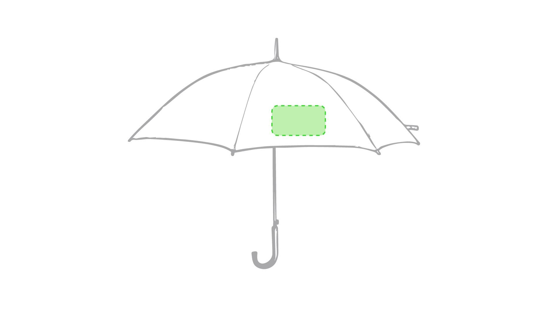 Paraguas con mango de plata 1