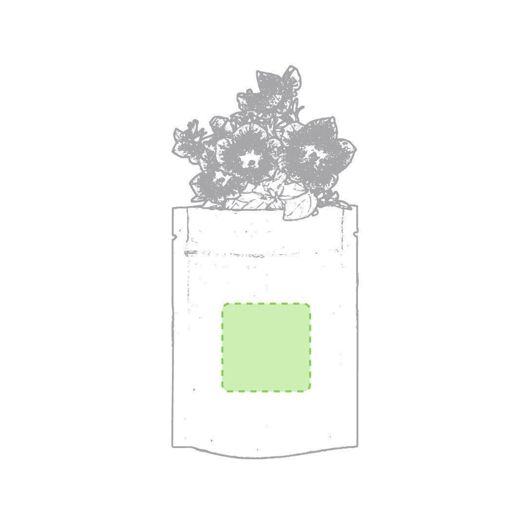 Maceta de papel con semillas 1