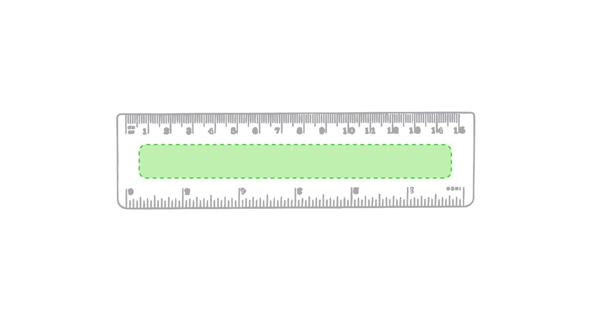 Regla de 15 cm 1