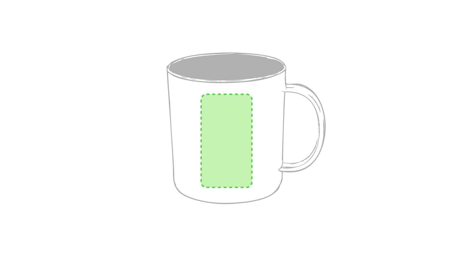 Taza de plástico personalizada en variedad de colores 1