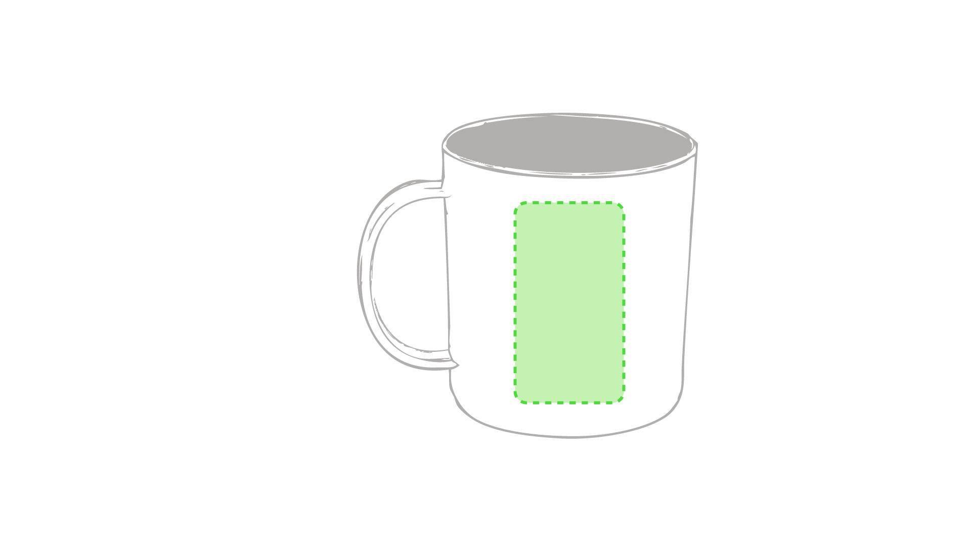 Taza de plástico personalizada en variedad de colores 2