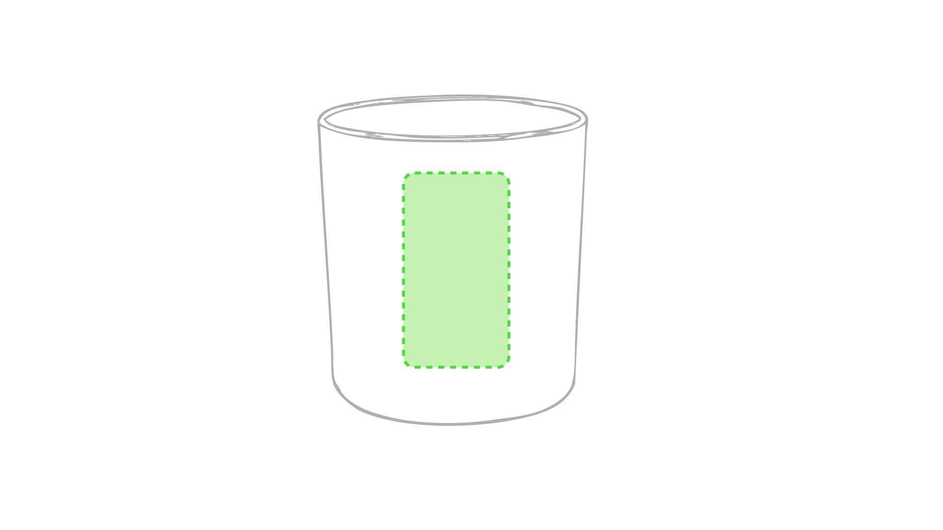 Taza de plástico personalizada en variedad de colores 3