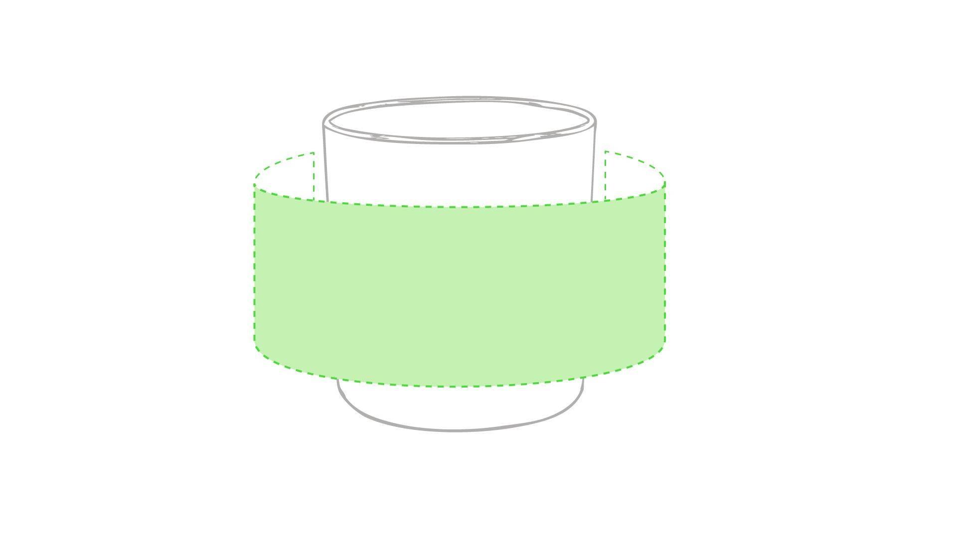 Taza de plástico personalizada en variedad de colores 4