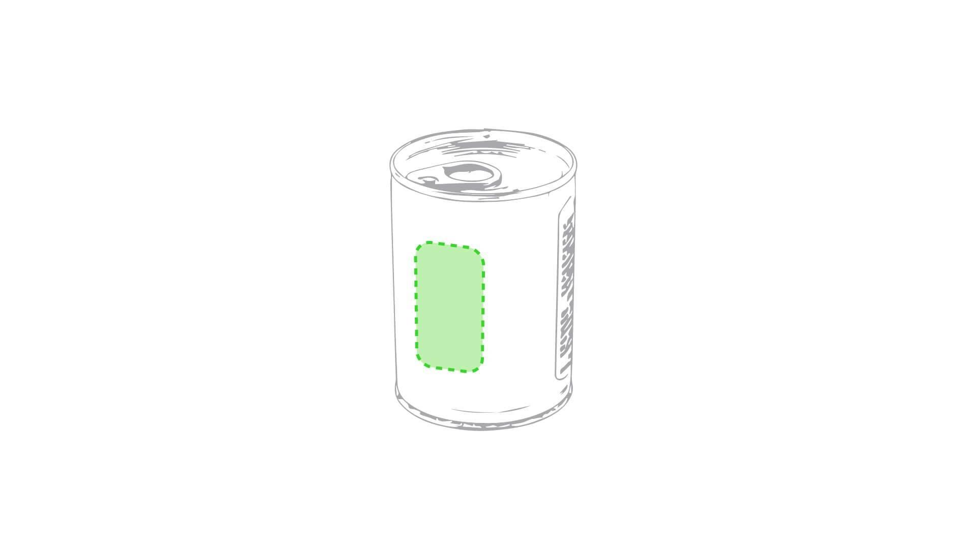 Maceta de lata metálica 1